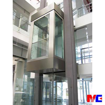 默信mc液压观光电梯可提供国内多年经验的一体钢结构